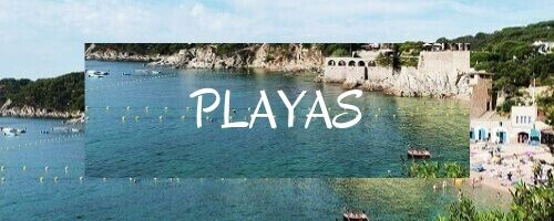 playas en al costa brava