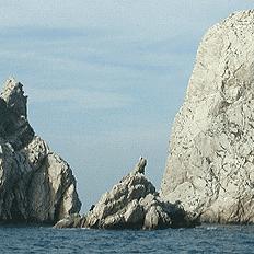 Islas medes en la costa brava